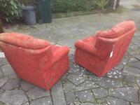 Pair of Armchairs free to good home