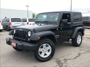 2015 Jeep Wrangler SPORT**4X4**HARDTOP**BLUETOOTH**AIR CONDITION