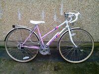 Ladies Emmelle road bike classic retro racer