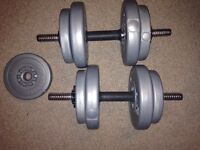 York sand weights with bars