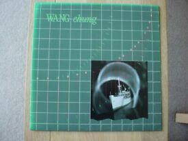 WANG CHUNG Points On A Curve USA / US 1st PRESS VINYL LP