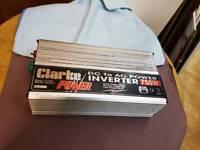 clarke dc to ac inverter model no cl-1500