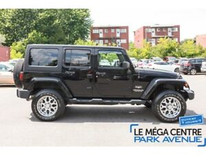 2012 Jeep WRANGLER UNLIMITED Sahara, MAGS, BLUETOOTH, CRUISE, A/