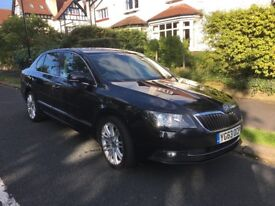 2013 Skoda Superb Hatch 2.0L 170 Bhp Diesel in Black Pearlescent