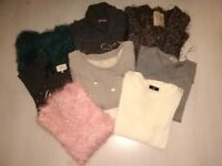 Ladies jumpers and tops sizes 8 and 10
