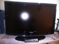 SAMSUNG QUALITY 37 INCH LCD TV