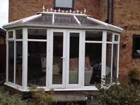 Conservatory 4.2m x 3.2m. Excellent condition. Double glazed pvc windows.