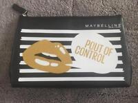 Maybelline make up bag