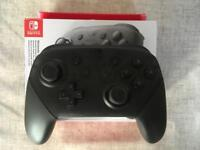 Nintendo Switch Pro Controller - Mint Condition & Boxed