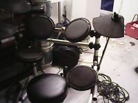 Digital electronic drums