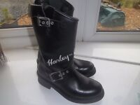 Harley female Motorbike or lovely fashion Boots