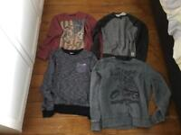 Bundle of boys jumpers Age 12