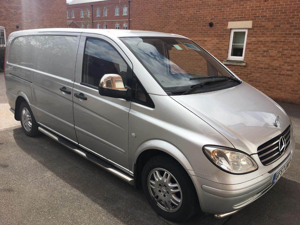 mercedes vito 115 cdi sport lwb in swindon wiltshire gumtree. Black Bedroom Furniture Sets. Home Design Ideas