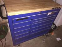 Snap on tool box with all the tools