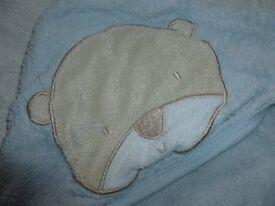 Baby Hooded Towels x 3