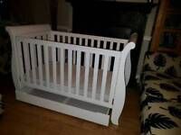 Boori country sleigh cot bed