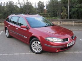 2006 RENAULT LAGUNA ESTATE TURBO DIESEL 2.0 DCI DYNAMIQUE NAVIGATION ~1~OWNER~ A MUST VIEW FIRST