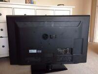 LG 47 inch LCD TV for parts/repair