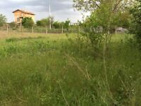 Bulgaria Land sale 20 km from Black Sea, 1100 m2. Town with foreign expats as neighbors.