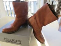 Tommy Hilfiger Leather Women's Mid-calf Boots