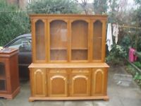two unit dresser style furniture item