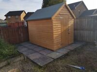 HEAVY DUTY SHEDS 19MM THICK T&G from £339