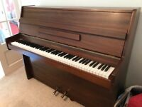 Upright mahogany piano. Chappell
