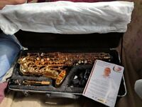 AS NEW Odyssey Alto Sax with hardcase