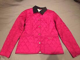 BARBOUR Liddesdale Women's Coat in Pink Size 10 - Ladies / Girls Jacket
