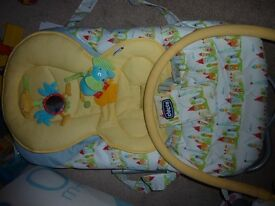 Chicco relax and play Bouncing chair very good condition
