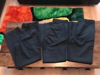 3x Brand New M & S School Trousers.
