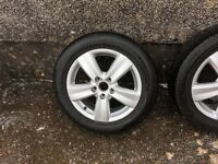 Vw caddy 16 inch alloys
