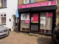Shop / Business for Rent, Currently Beauty and Hair Salon, Close to Town Centre and Train Station