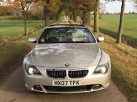 BMW 650i Sport, Auto, Mineral Silver, 2007, 100270 miles, FABULOUS
