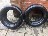 2 x Falken 185 / 60 R 14 Tyres - 66% life left (5 mm tread), £80 new, will accept £25
