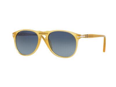 Persol Sonnenbrille PO9649S 204/S3 gelb blau