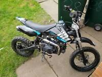 125cc wpb pitbike