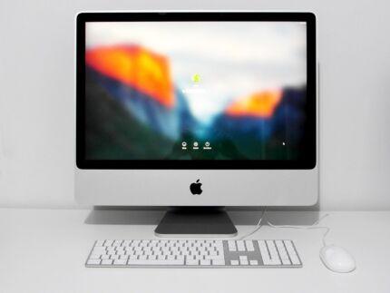 "Apple iMac - 24"" - 3.06Ghz Intel Core 1TB HD - HD Screen Wifi"
