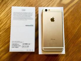 Excellent iPhone 6s Gold 32GB Boxed