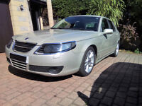 SAAB 9-5 HOT Aero 2007, in very good condition, with less than 89000 miles