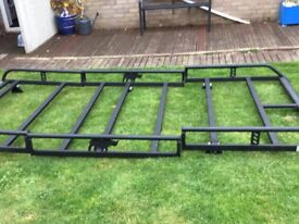 Second hand roof rack make rhino heavy duty for Mercedes Vito lwb 2012 on wards
