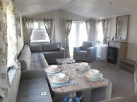 Brand New 2 bedroom holiday home static caravan for sale, beach access