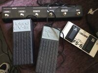 GUITAR AMP EXPANSION FOOT PEDALS!!!