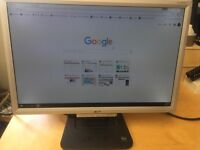 """Acer AL1916W 19"""" widescreen monitor, includes VGA cable - 2 monitors available"""
