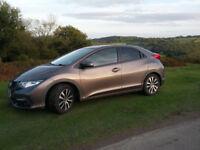 Honda Civic 1.6 i-Dtec New MOT Low Milege