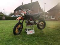 Demon x dlink Pitster Pro big wheel 125cc