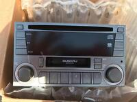 SUBARU STEREO - CD PLAYER AND TAPE - FULLY WORKING