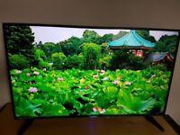 Blaupunkt 43 inch Slim SMART 1080P LED TV Freeview HD USB Built in Wifi