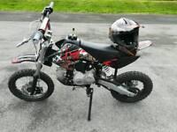 M2R KX110F Pitbike 110cc **LIKE NEW**