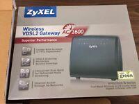 ZyXEL VMG3925-B Series Dual Band Wireless VDSL2 Gateway Router